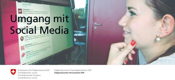 Ein weiteres Beispiel ist der Leitfaden «Umgang mit Social Media» (PDF) des Eidgenössischen Personalamtes (EPA), auf den Nils Güggi gestern via Twitter ... - ch_umgangmitsocialmedia_001