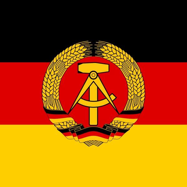Bild: Flagge der ehemaligen Deutsch Demokratischen Republik (DDR)